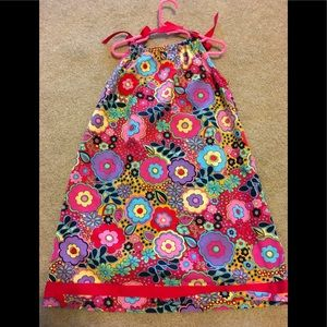 Hanna Andersson  Sz 6-7 (130) Colorful Dress